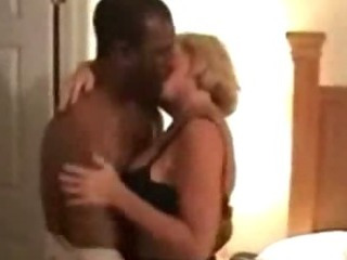 Horny housewife loves to fuck big black cock