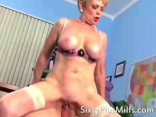 Horny bitch grandma hardcore