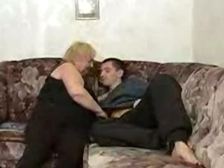 Russian Boy Fucking With Fat Granny