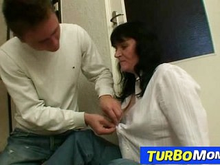 Big natural tits czech housewife Agnes young son sex