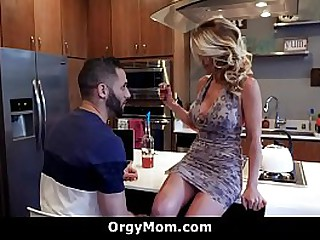 Horny Step Mom Seduces Her Young Stepson