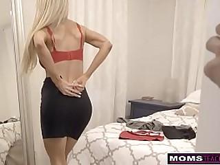 Blonde Milf Step Mom  Courtney