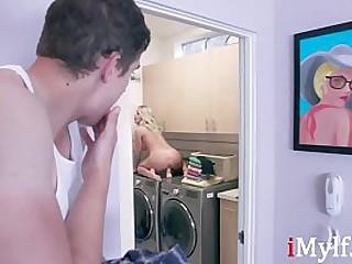 Mom Caught Masturbating By Her Son