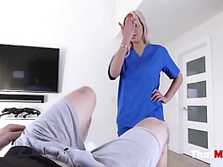 DOCTOR mom fucks son