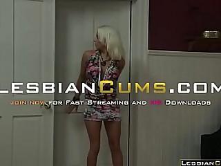 LesbianCums.com - Kinky Teen Ask Money to Lesbian Step Mom