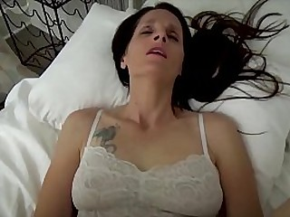 Mom Helps Son - Mom & Son Share a Bed - Virtual Sex, Older Woman, Fauxcest, Mature