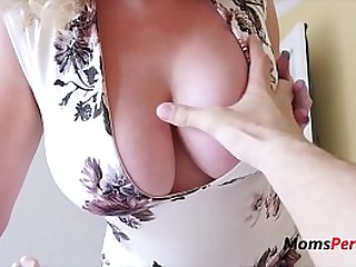 Busty AMERICAN mom wants SON