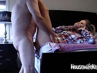 Wife fucked while talking to her mom
