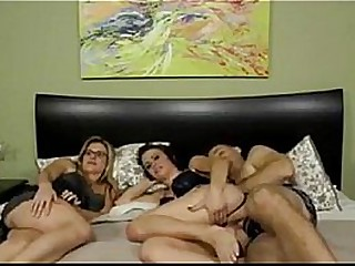 Brooklyn Daniels gets fucked by her daddy while mom is sleeping