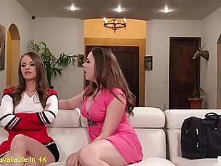 Busty Mom Helps On Her Daughter