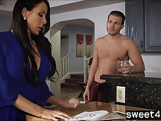 Studly young Son fucks bored housewife Mom